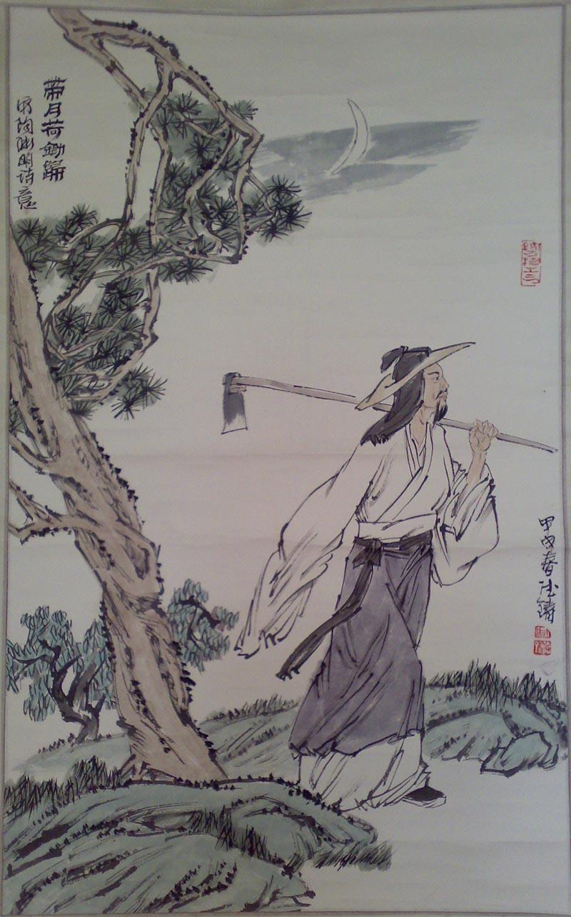 〈原创〉[七律]    米 - 文学天使 - 桃花苑主